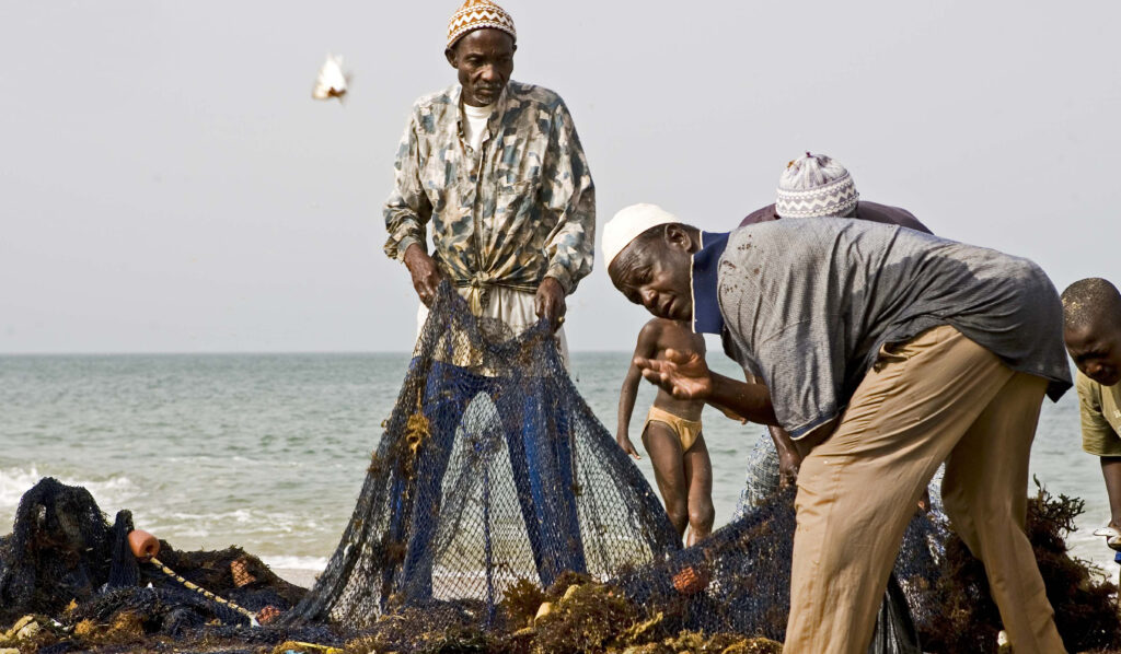 Fisherman - Senegal 2009