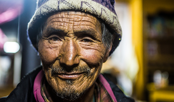 A man - Nepal 2019