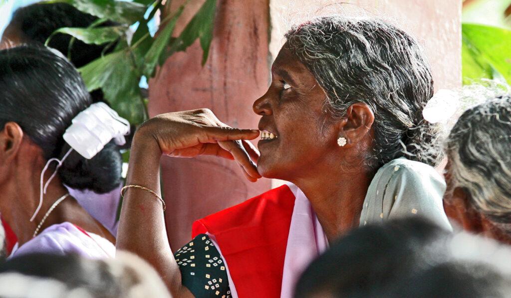 Donna indiana - India 2006