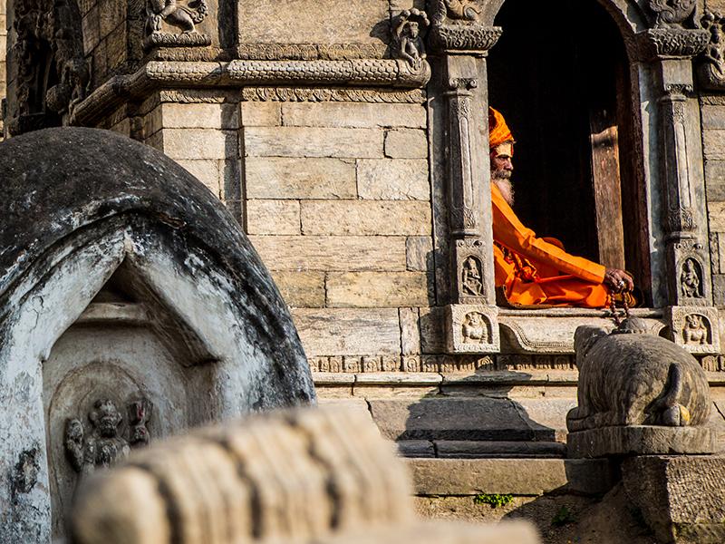 Orange man - Nepal 2019